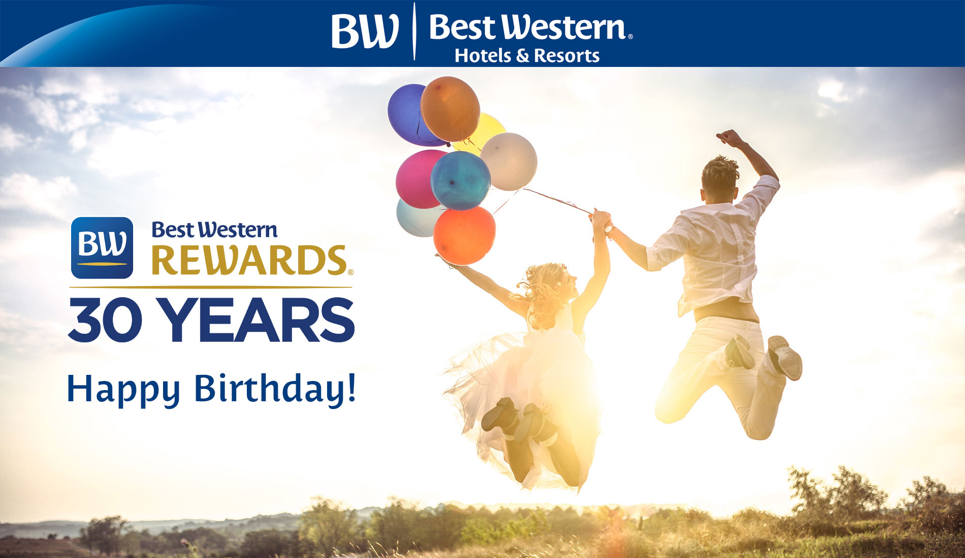 Best Western Rewards fylder 30 år!